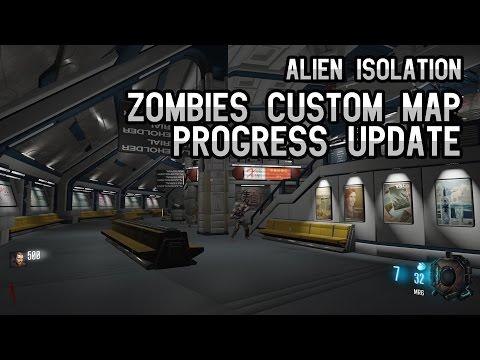 Steam Community :: Video :: Alien Isolation Custom Zombies Map (Week 4)