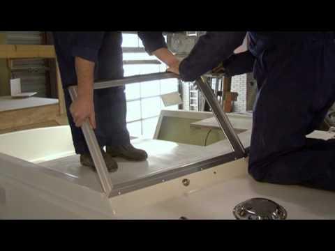 VETUS - Einbauvideo Fenster Luken und Bullaugen - Bukh Bremen GmbH.flv