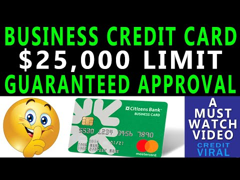 Guaranteed $25,000 Business Credit Card | Soft Pull Only Credit Card | Credit Viral