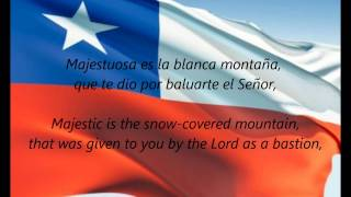 "Chilean National Anthem - ""Himno Nacional De Chile"" (ES/EN)"