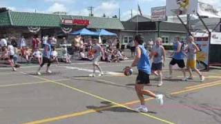 preview picture of video 'Team Norwich Beverage at Gus Macker 2007'