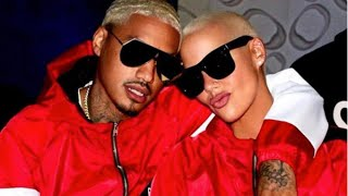 Amber Rose Split From Baby Daddy AE As She Throws Subliminals On Father's Day.