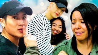 K-Pop Stars Surprise K-Pop Fans ft. GOT7