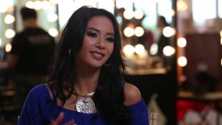 Elvira Devinamira Indonesia Miss Universe 2014 Official Interview