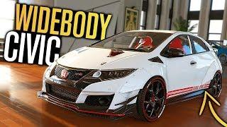 The Crew 2 - WIDEBODY Honda Civic Type R Customization! (+ Megane R.S)