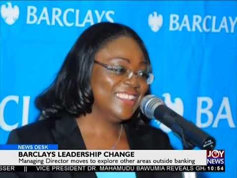 Barclays Leadership Change - Business Desk on JoyNews (11-5-18)