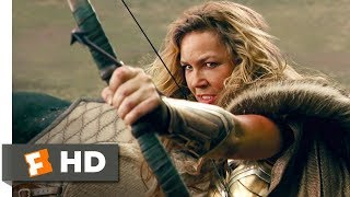 Justice League (2017) - Amazons vs. Steppenwolf Scene (2/10) | Movieclips