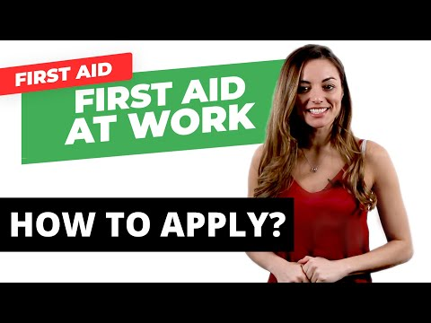 How to Get the First Aid at Work Certificate - YouTube