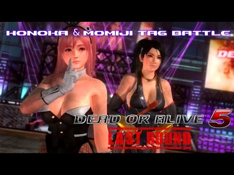Dead Or Alive 5 Last Round PS3 - Honoka & Momiji Tag Battle (DOA5LR PS3 Gameplay)