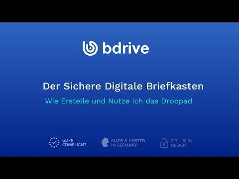Droppad - Der Sichere Digitale Briefkasten