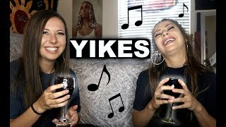 DRUNK SING OFF WITH MY SISTER!!