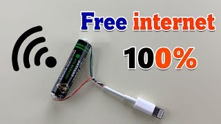 FREE WIFI FREE INTERNET 100% -  HOW TO GET FREE INTERNET 2019