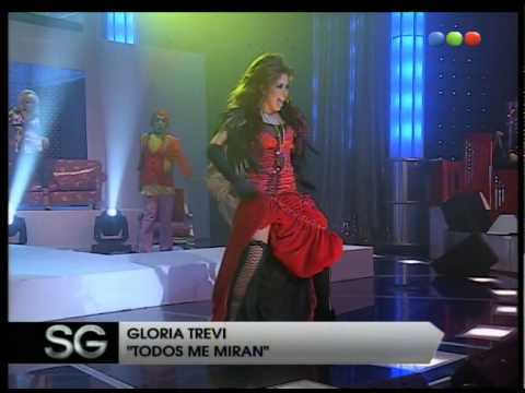 Gloria Trevi, Y todos me miran - Susana Gimenez 2007