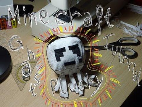 Minecraft Ghast Plushy/ Plüschi Tutorial