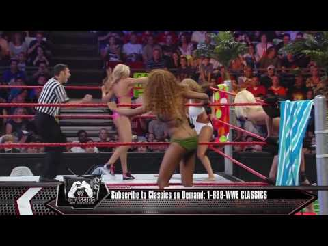 Raw 07/13/09 - Summer Swimsuit Spectacular Tag Team Match