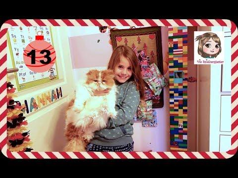 ADVENTSKALENDER 2018 ÖFFNEN TAG 13 ⛄️ Was für ein Geschenk versteckt sich im Kalender?
