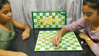 Play Snakes And Ladders Board Game | Board Game Challenge