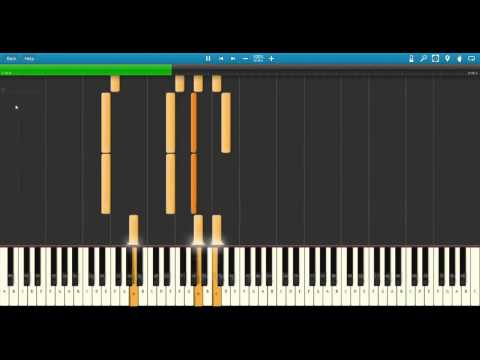 Radiohead - Life in a Glasshouse on Synthesia