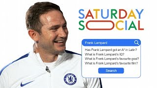 Frank Lampard Answers the Web's Most Searched Questions About Him   Autocomplete Challenge