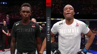 UFC 234: Israel Adesanya And Anderson Silva Octagon Interviews