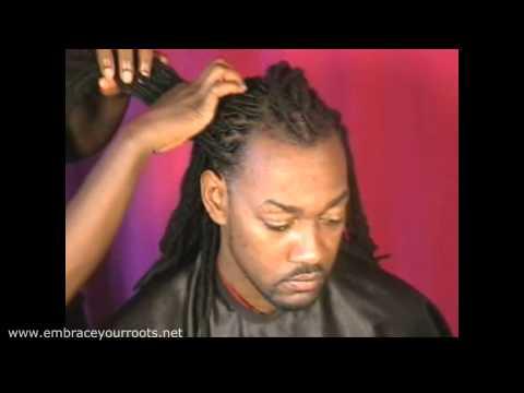 9930ddb8fe2 Hair Locking 102   Dreadlock Braid Ponytail (www.embraceyourroots.net) -  Sonia Thames