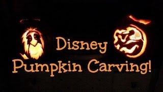 Disney Pumpkin Carving |  The [Minnie]malist