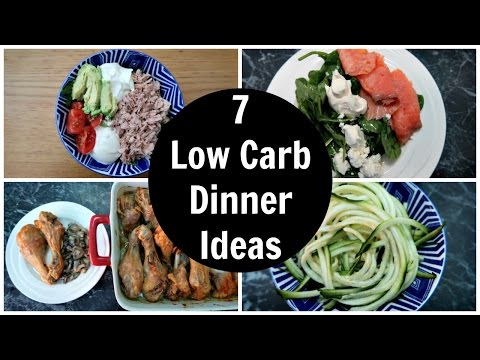 Video 7 Low Carb Dinner Ideas - A Week Of Easy Keto Diet Dinner Recipes