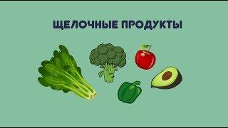 Кислоты и щелочи в продуктах питания