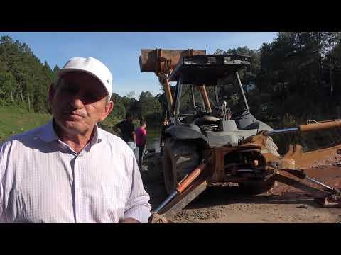 Prefeito Ayres Scorsatto fala sobre a situação da represa do Calazan