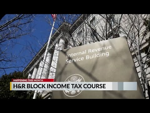 H&R Block Income Tax Course - YouTube
