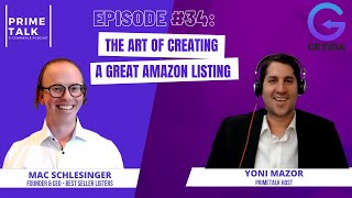 Mac Schlesinger | The Art of Creating a great Amazon Listing