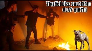 KÖPEKLERLE TİNERCİLERİN MEKANINI BASTIK!! - FECİ OLAY ÇIKTI!!