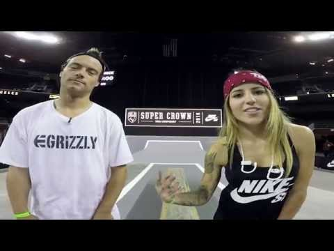 Chris Joslin and Leticia Bufoni // 2016 LA Supercrown GoPro Course Preview
