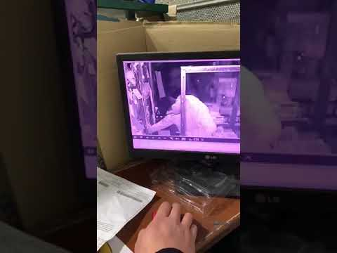 Video. Por los techos, entró a un supermercado de barrio Hipódromo