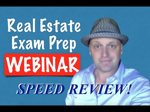 Download 1 Hour Real Estate Exam Crash Course with Irene Mp4 HD Video and MP3