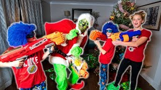 Nerf War: How the Grinch Stole Christmas!