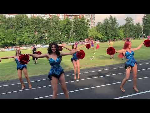 Группа поддержки РК ЦСКА Lucky Demons Cheerleaders Черлидинг