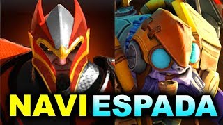 NAVI vs ESPADA - WHAT A MATCH! - TI8 CIS OPEN QUALS DOTA 2
