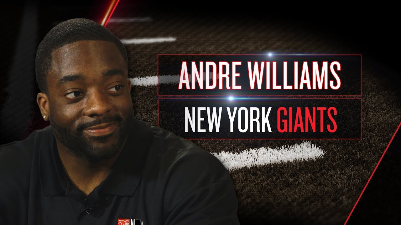 Andre Williams on new Giants role, playbook, New Jersey life (2014 NFLPA Rookie Premiere) thumbnail