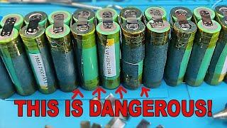 Wanna make 18650 Battery Packs? WATCH THIS FIRST!
