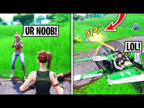 I Met A Toxic 12 Year Old in Fortnite Playground Fills, Then DESTROYED Him.. (He Cried)