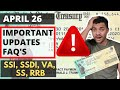 SSI, SSDI, VA, RRB IRS | Stimulus Check Payment | UPDATE | Questions & Answers