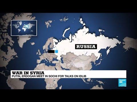 War in Syria: Putin and Erdogan meet as whole world watches