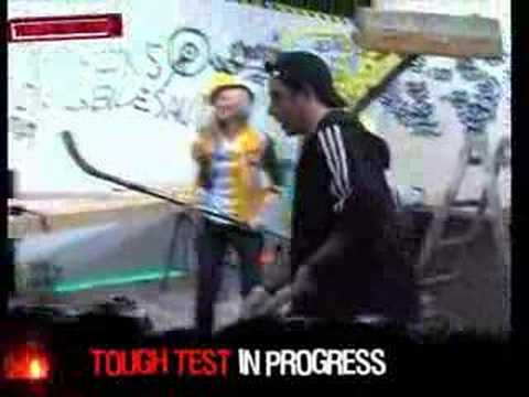 Tag 04: Test 08: Hockey-Action im Labor