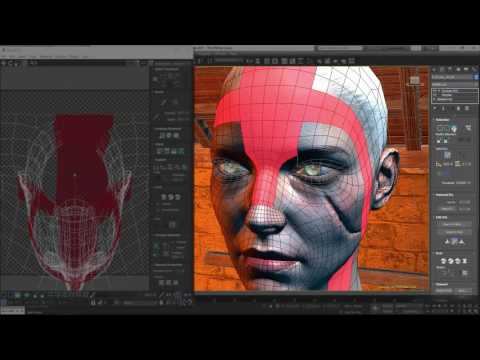 3ds Max 2017 UV Mapping Updates