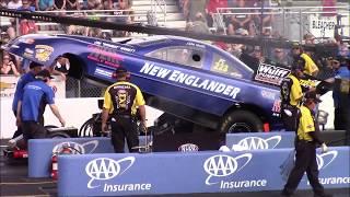 Nitro Funny Car Qualifying - NHRA New England Nationals - Friday July 6, 2018