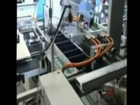 immagine di anteprima del video: Linea fasciatrice scatole grandi