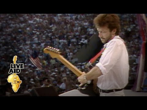 Eric Clapton - Layla (Live Aid 1985)