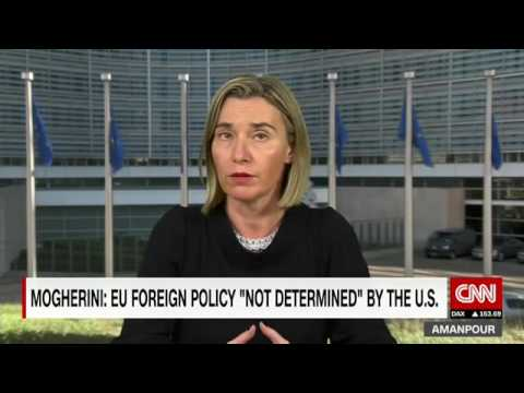 CNN interview: Mogherini on US President elected Trump