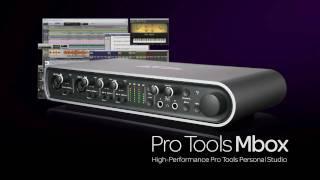 Presentación De La Familia Pro Tools® Mbox®